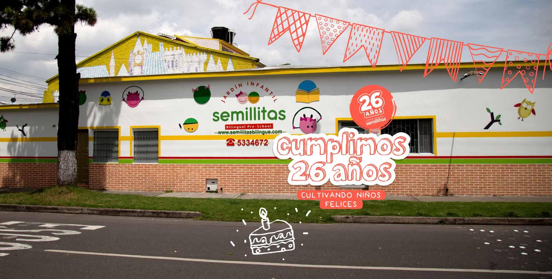 aniversario 26 jardín infantil semillitas bilingüe